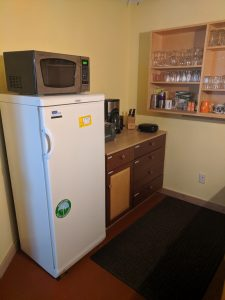 use of kitchenette